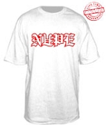 NUPE in Old English T-Shirt - EMBROIDERED with Lifetime Guarantee