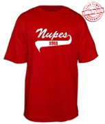 Nupes 1911 T-Shirt - EMBROIDERED with Lifetime Guarantee