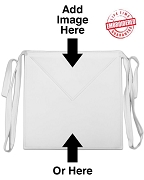 Masonic Apron, White - EMBROIDERED with Lifetime Guarantee