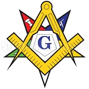 Masonic Patron Symbol Patch