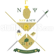 Nu Gamma Psi Crest Patch