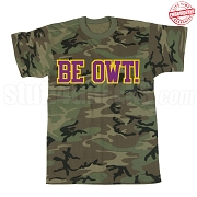 Be Owt T-Shirt, Camo - EMBROIDERED with Lifetime Guarantee