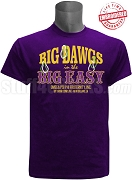 Omega Psi Phi Big Dawgs in the Big Easy 2018 Conclave, Embroidered With Lifetime Guarantee