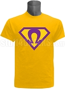 Gold Super Que Screen Printed T-Shirt