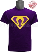 Purple Super Que T-Shirt - EMBROIDERED with Lifetime Guarantee