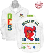 Deluxe Order of the Eastern Star Line Jacket with Fatal Star and