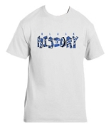 Phi Beta Sigma Black History Screen Printed T-Shirt, White