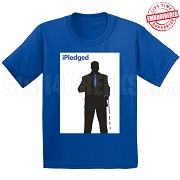 iPledged Phi Beta Sigma T-Shirt, Royal - EMBROIDERED with Lifetime Guarantee