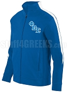 Phi Beta Sigma Logo Track Jacket Track Jacket, Royal/White (AUG)