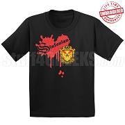 Sinfonian Metallic Vintage T-Shirt, Black - EMBROIDERED with Lifetime Guarantee