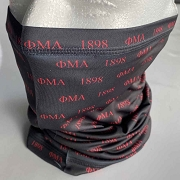 Phi Mu Alpha 1898 Neck Gaiter Face Shield Head Tube Bandana