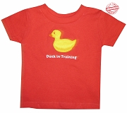 Duck in Training T-shirt -EMBROIDERED with Lifetime Guarantee
