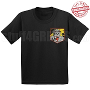 Angry Ape Faux Pocket T-shirt - EMBROIDERED with Lifetime Guarantee