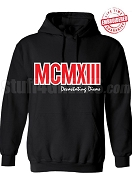 Devastating Diva Numeral Founding Year Pullover Hoodie - Lifetime Embroidery Guarantee (COPY)