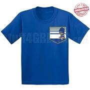Kappa Kappa Psi Kid Faux Pocket T-Shirt - EMBROIDERED with Lifetime Guarantee