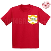 OES Chevron Faux Pocket T-shirt - EMBROIDERED with Lifetime Guarantee