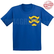 SGR Chevron Faux Pocket T-shirt - EMBROIDERED with Lifetime Guarantee