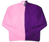 Clearance: Pink/Purple Two-Tone Coaches Jacket, Size MEDIUM, Blank