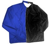 Clearance: Royal Blue/Black Two-Tone Coaches Jacket, Size SMALL, Blank