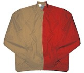 Clearance: Tan/Red Two-Tone Coaches Jacket, Size 3XL, Blank