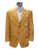 Mocha Temple #7 Gold Blazer