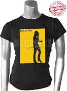 I Am SGRho iPledged-Style T-Shirt, Black - EMBROIDERED with Lifetime Guarantee