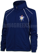 Sigma Gamma Rho Large Crest Track Jacket, Royal (BAW)