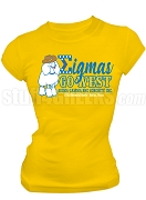 Sigma Gamma Rho 2018 Boule Sigmas Go West Screen Printed T-Shirt, Gold