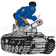 Phi Beta Sigma Hulk on Tank Patch