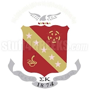 Sigma Kappa Crest Patch