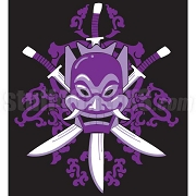 Sigma Lambda Beta Swords & Mask Patch