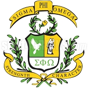 Sigma Phi Omega Crest Patch