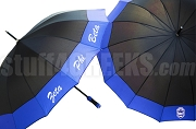 Greek Sorority 14 Panel Umbrella with Organization Name and Crest (SAV)