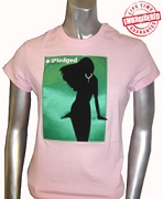 iPledged AKA, Pink Ladies Tee - EMBROIDERED with Lifetime Guarantee