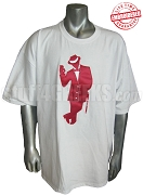 Kappa Alpha Psi Kane Man, White - EMBROIDERED with Lifetime Guarantee