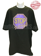 Stop Skating! T-Shirt, Purple/Gold - EMBROIDERED with Lifetime Guarantee