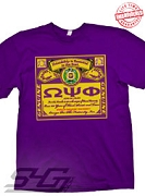 Omega Bud Label T-Shirt - EMBROIDERED with Lifetime Guarantee