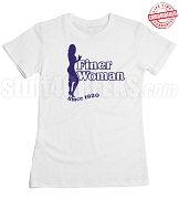 Zeta Phi Beta Finer Woman Since 1920 T-Shirt - EMBROIDERED with Lifetime Guarantee