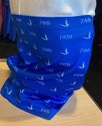 Zeta Phi Beta 1920 Dove Neck Gaiter Face Shield Head Tube Bandana