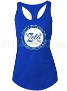 Zeta Phi Beta Way Racerback Shirt, Royal Blue (AB)