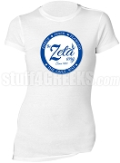 Zeta Phi Beta Way Scoop Neck T-Shirt, White (AB)