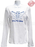 Zeta Phi Beta Gives You Wings T-Shirt - EMBROIDERED with Lifetime Guarantee