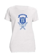 Zeta Phi Beta School Daze Screen Printed T-Shirt, White