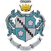 Zeta Tau Alpha Crest Patch