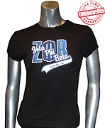 Zeta Phi Beta Inc. Fitted T-Shirt, Black - EMBROIDERED with Lifetime Guarantee