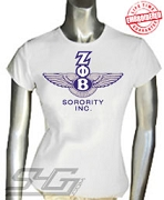 Z-Phi-B Bentley Logo T-Shirt - EMBROIDERED with Lifetime Guarantee