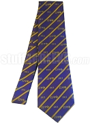 Omega Psi Phi 1911 Necktie, Purple/Gold - SOLD OUT