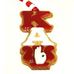 Kappa Alpha Psi Greek Letter Tiki Necklace with Psi Hand