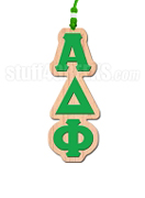 Alpha Delta Phi Greek Letter Tiki Necklace