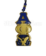 Alpha Phi Omega Greek Letter Tiki with Eagle